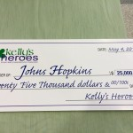 Hopkins big check